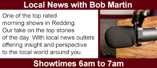 Local News with Bob Martin, Show Times 6am to 7am.